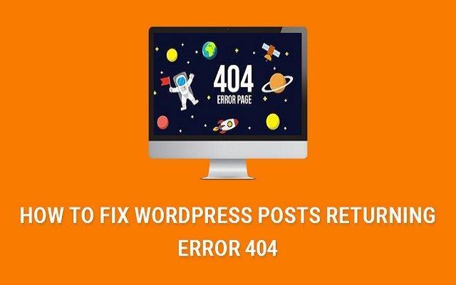 چگونه خطای 404 پست تایپ های سفارشی را رفع کنیم