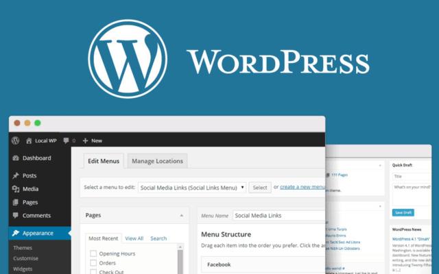 WordPress Store Site