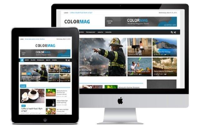 معرفی قالب ColorMag