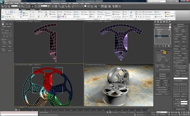 ۳d max software tool