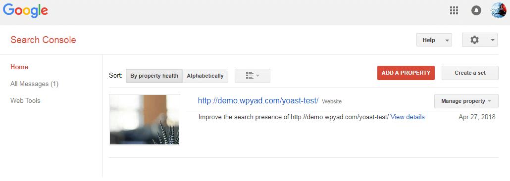 اتصال Yoast Seo به کنسول گوگل در هاست خارجی