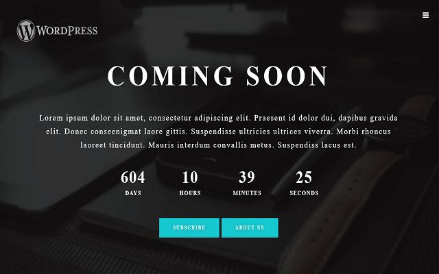ایجاد صفحه به زودی در وردپرس با افزونه Coming Soon