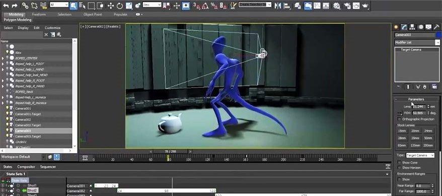 3d Max animation